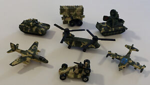 Micro Machines, Military Collection, Galoob, Helicopters, Tanks, Planes...M-5
