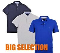 Tommy Hilfiger Polo Shirt Slim Fit Mens Mesh Short Sleeve New Style 2018