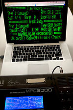 AKAI MPC3000 Virtual LCD option Board For SAMPLER!! can MIRRORING LCD in Your PC