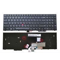 New For Lenovo IBM ThinkPad E570 E570c E575 laptop US Black Keyboard