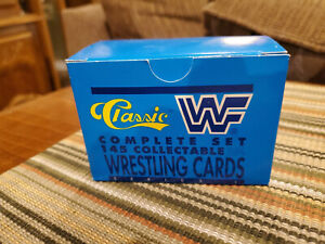 1990 Classic WWF Wrestling COMPLETE 145 Card Set Series 1 VERY RARE
