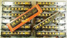 Hornby OO Gauge Lot of 14x Pullman Coaches Parlour Cars Coach Car R223 R233