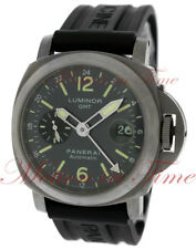 Officine Panerai Luminor GMT 44mm, Anthracite Dial - Titanium, PAM00089
