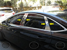 Ford Mondeo MK4 Saloon 2007-2014 Chrome Door Post Pillars 4Doors 6Pcs S.Steel