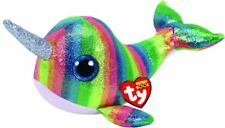 TY Beanie Boos Regular Nori Multicoloured Narwhal