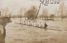 Oxford Rowing Crew, 1910.