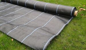 Weed Suppressant, Landscape Fabric, Weed Barrier, Weed Control Membrane 2m x 50m