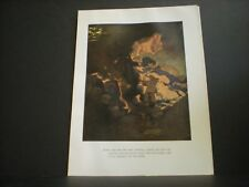 Maxfield Parrish original book plate from The Arabian Nights vintage 1925 ed. NR