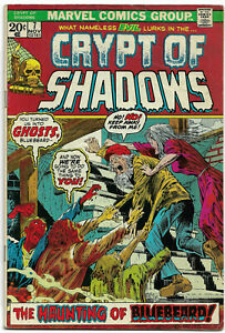 CRYPT OF SHADOWS#7 FN/VF 1973 MARVEL BRONZE AGE COMICS