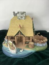 Partylite Gone Fishin' Tealight House P7305 Fishing, Ski Cabin Village Christmas