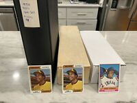 1974 Topps Complete Set + 1974 & 1976 Topps Near Complete Partial Sets Baseball
