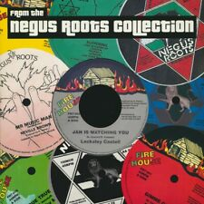 """NEW 7"""" Lacksley Castell - Jah Is Watching You  /  Negus Roots Players - Lost She"""