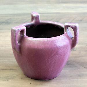 Fulper Pottery Famille Rose Bracket Vase