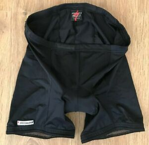 Specialized Removable inner black padded cycling shorts size XXL