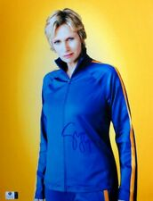 Jane Lynch Signed Autographed 11X14 Photo Glee Sue Sylvester Tracksuit GV806066