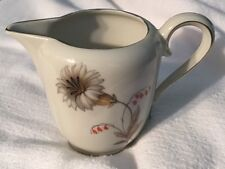 VINTAGE China Creamer W Flower BAVARIA TIRSCHENREUTH 100 GERMANY