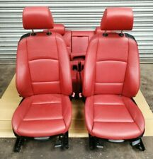 BMW 3 Series E92 M Sport. Coupe Front Left Right Rear Leather Red Seats