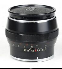 Lens Zeiss Sonnar 2/85mm All Black for Contarex
