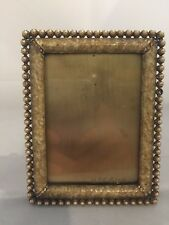 """Jay Strongwater Emilia Pearlized Crystal 3"""" x 4"""" Frame -Spf 5114"""