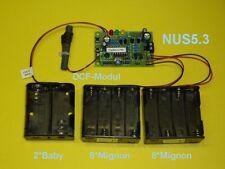 Mutteruhr, Hauptuhr, Zentraluhr, Steuerung für Impuls- Nebenuhr, Batteriebetrieb