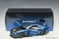 Autoart 72933 - 1/18 Ford Mustang Shelby GT350R - Lightning Blue - Neu