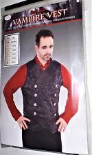 Herren Vampir Weste für Kostüm  Dracula Karneval Fasching Halloween  M/L 50/52