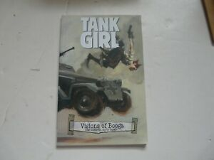 Tank Girl Visions of Booga 1 TPB IDW 2008  MINT OOP