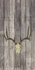 Antler Wood Baggo Cornhole Board Decal 3M Wrap Set