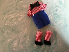 Kelly  Doll Clothes Overall Jumper  set for Ryan  Tommy Dolls