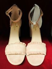 Kate Spade New York Women's Odele Suede Ankle Strap Sandals - 6.5M Dusty Blush