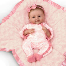SO TRULY REAL ASHTON DRAKE MEGAN ROSE BABY DOLL BY SHERRY RAWN 18""