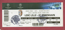 Orig.Ticket   Champions League  2012/13   LOSC LILLE - FC KOPENHAGEN  !!