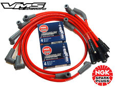 VMS RACING 10 MM SPARK PLUG WIRE SET 94-96 CHEVROLET CAPRICE LT1 W/ NGK IRIDIUM
