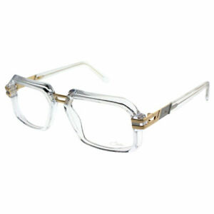 Cazal 6004 004 Crystal Plastic Square Vintage Square Eyeglasses 56mm