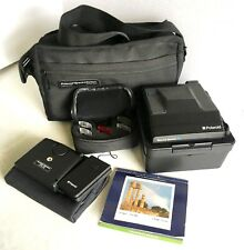 Vintage 1986 Polaroid Spectra System Camera with original Bag and Accessories