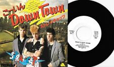 "STRAY CATS - WHAT'S GOIN' DOWN - 7"" 45 PROMO RECORD w PICT INSERT - 1981 JAPAN"