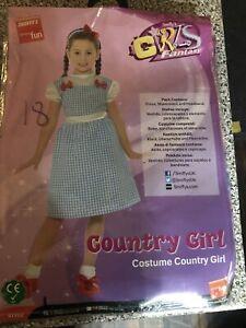 Smiffy's Kansas Country Girl Costume Medium 7-9 Years