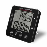 Salter Kitchen Timer - Heston Blumenthal Dual Precision Digital Cooking Timer