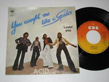 """7""""/ACID/YOU CAUGHT ME LIKE A SPIDER/LOVIN YOU/CBS 3767"""