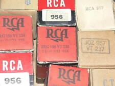 1 NOS RCA 956 Tube