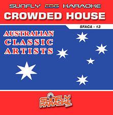 CROWDED HOUSE HITS AUSSIE SUNFLY KARAOKE CD+G