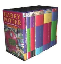 USED (GD) Harry Potter UK/Bloomsbury Publishing Vol 1-6 Children's Edition Boxed