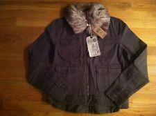LUCKY BRAND WOMENS OLIVE GREEN MOTORCYCLE JACKET $169.00 SIZE XLARGE BNWT