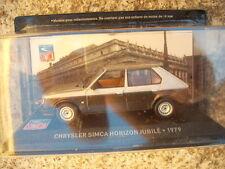 MODELLINO CHRYSLER SIMCA HORIZON JUBILE 1979 SCALA 1/43