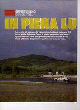 W10 Ritaglio Clipping 1993 Superturismo Grande Attesa In piena luce