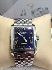 MENS RAYMOND WEIL DON GIOVANNI AUTO WATCH BLUE DIAL MODEL 2671 NO RESERVE