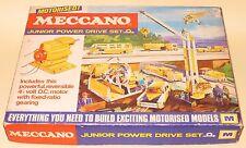Meccano Junior Potencia Unidad Set M fábrica sellado menta en caja muy buen estado