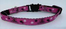 NEW CAT COLLAR with bell adjustable Made in England.