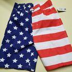 OT REVOLUTION PATRIOTIC USA AMERICAN FLAG Boys' Stripes Swim Trunks M,L