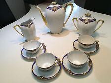 STUNNING ART DECO A. GIRAUD, FOR LIMOGES, COFFEE SET